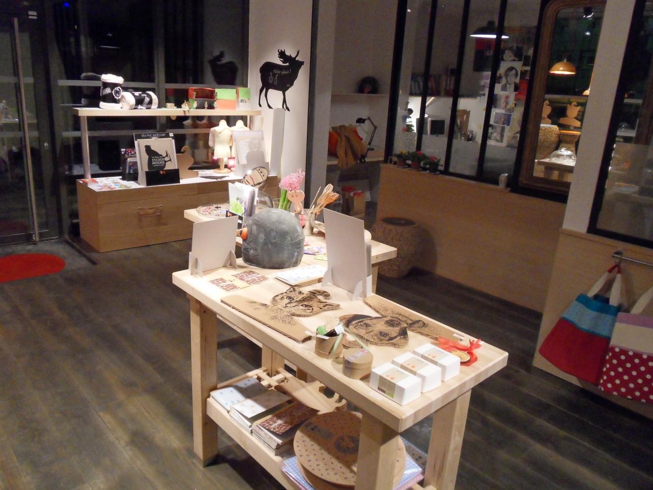 interieur boutique atelier cocoboheme