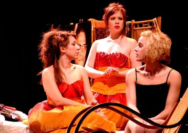 Concours 4 places pour la pi ce 5 filles couleur p che d 39 alan ball au th tre musical marsoulan for Piece de theatre domino