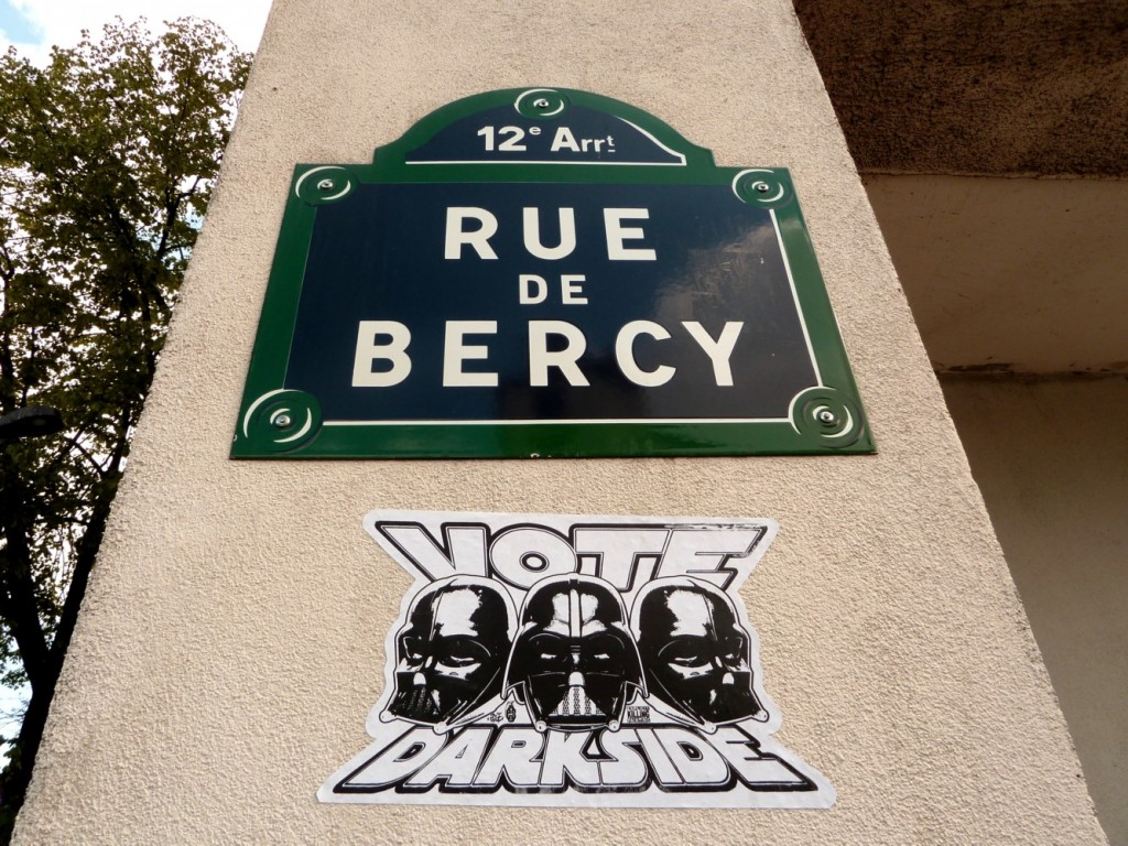pr sidentielle 2012 street art paris vote darkside. Black Bedroom Furniture Sets. Home Design Ideas