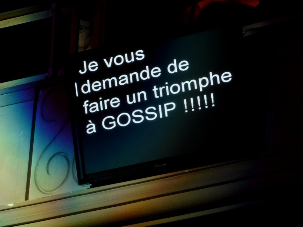 Gossip prompteur Ali Badou Nuit de l'album de la semaine canal plus grand rex