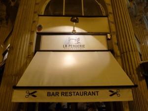 La Penderie bar restaurant paris etienne marcel