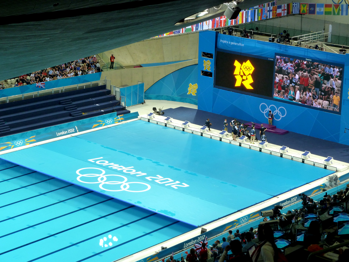 piscine olympique jeux olympiques londres 2012. Black Bedroom Furniture Sets. Home Design Ideas