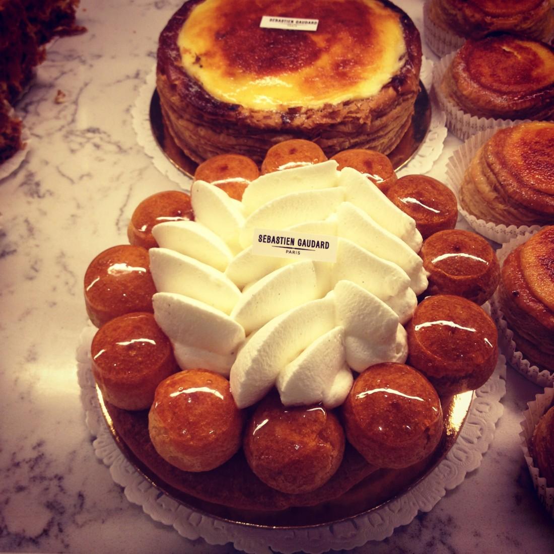 dessert choux et cr 232 me honor 233 s 233 bastien gaudard chef patissier rue des martyrs