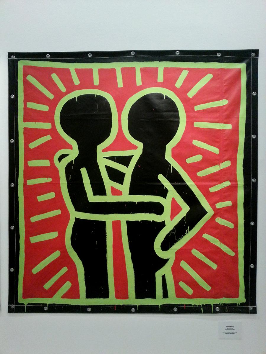 keith karing untitled september 1982 peinture. Black Bedroom Furniture Sets. Home Design Ideas