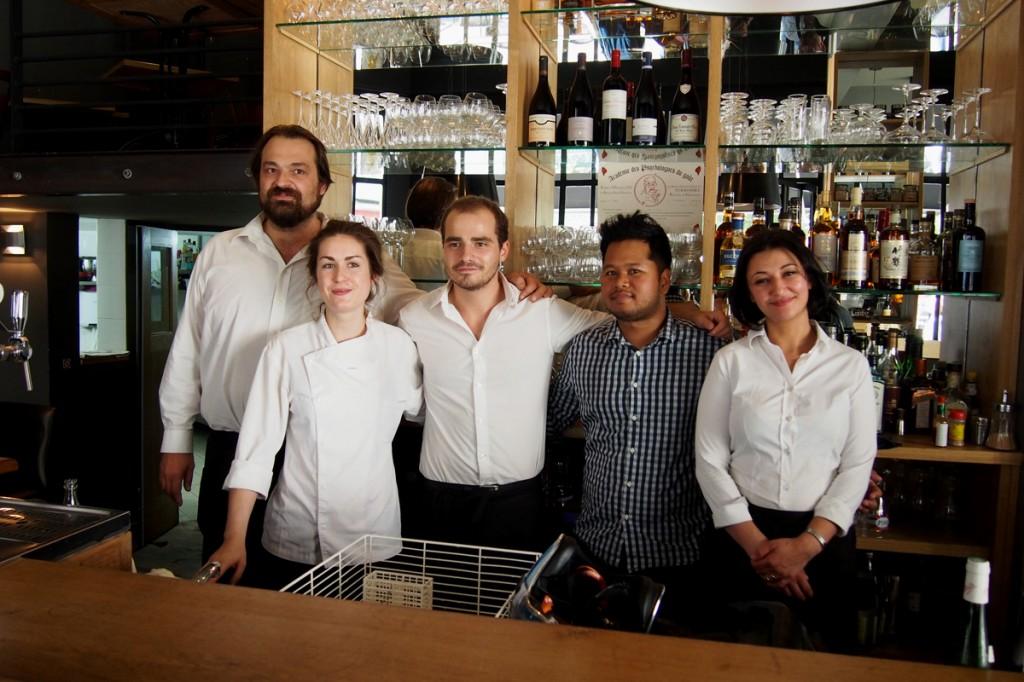 Pirouette restaurant les halles tomy gousset le meurice fooding zoomon paris équipe