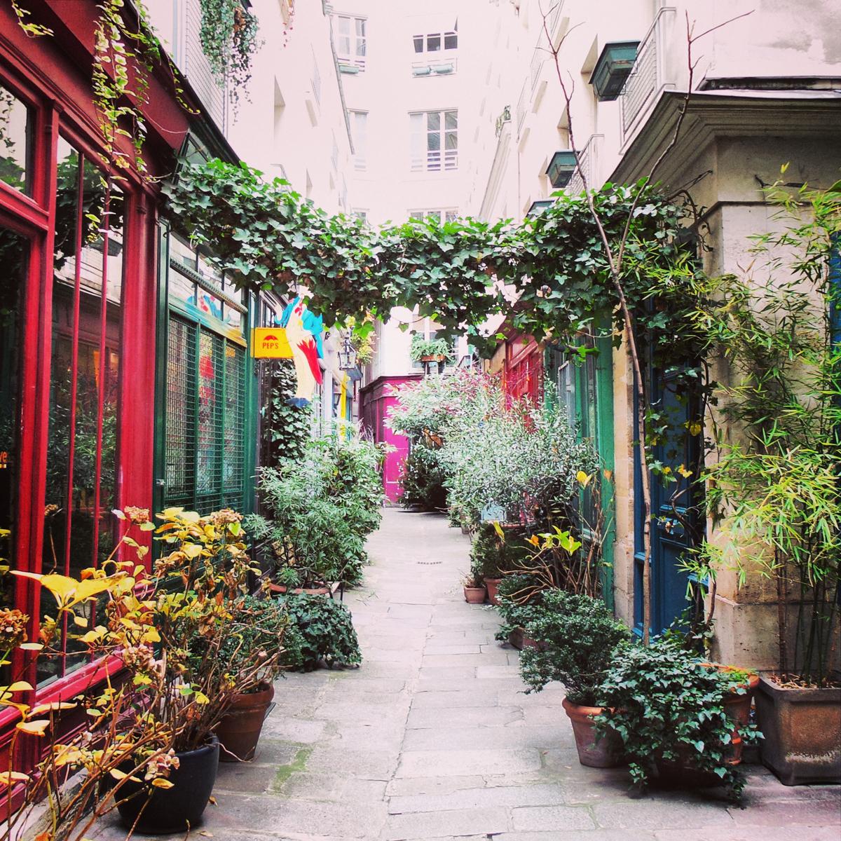 Passage de l 39 ancre paris secret private flowers photo by for Booking secret de paris