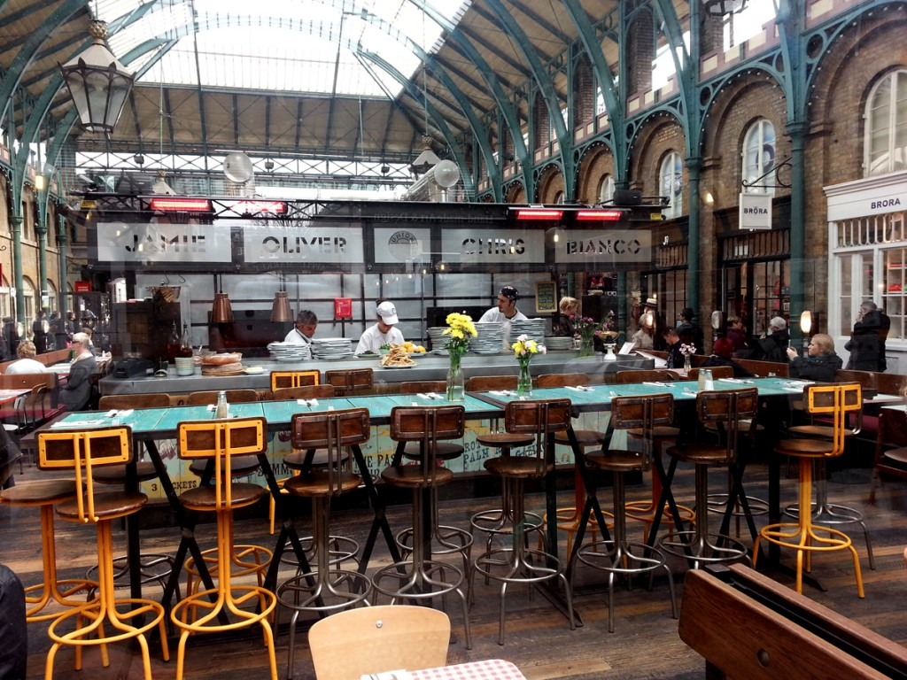 Restaurant jamie oliver london covent garden jamie 39 s italian uk londres f - Bon restaurant indien londres ...