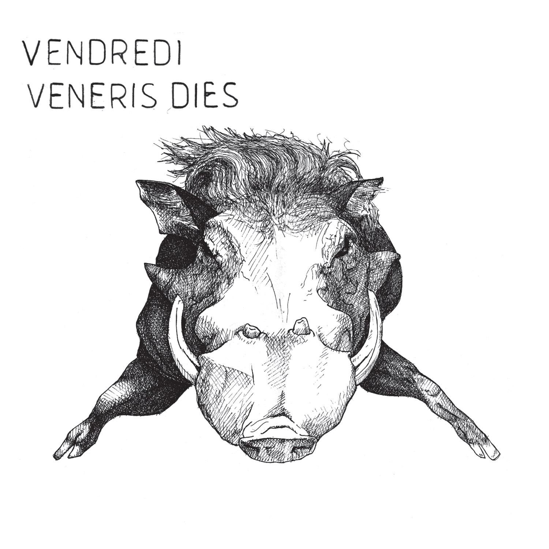 Vendredi music EP Veneris Dies by Pierre-Elie Robert et Charles Valentin No Label Recods Label musique