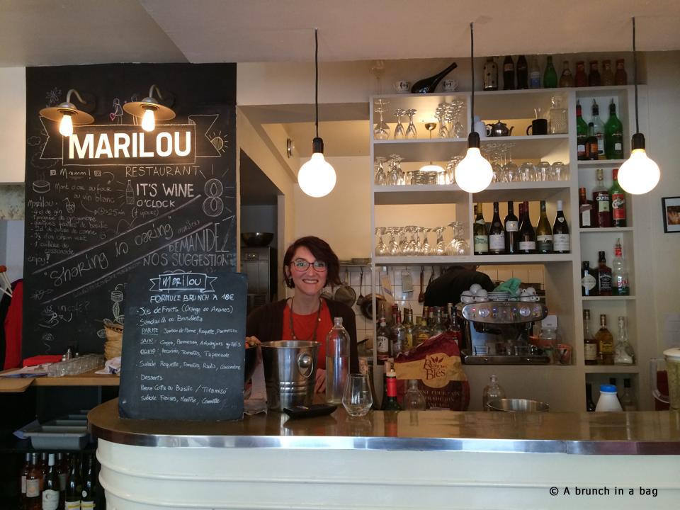 A brunch in a bag by Da Carla Traini Marilou resto fooding foodporn cuisine italienne fraiche a emporter menu dimanche Paris home made