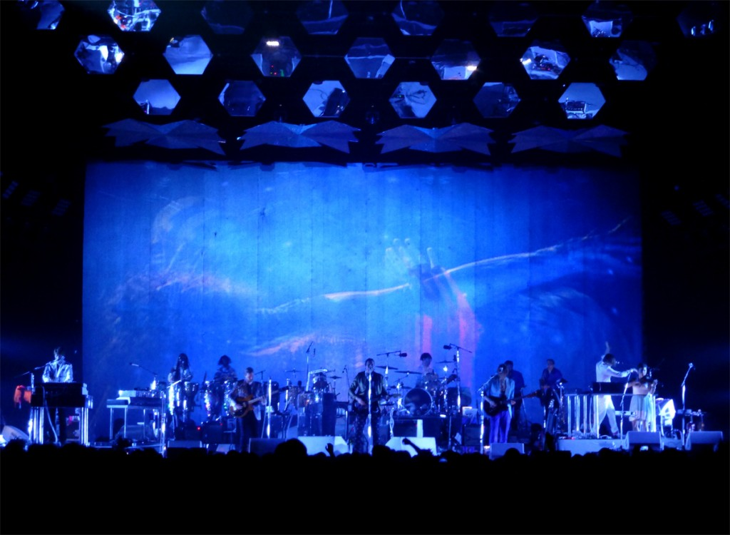 Arcade Fire band concert live Reflektor Tour 2014 new album stage music Le Zénith photo by United States of Paris Blog