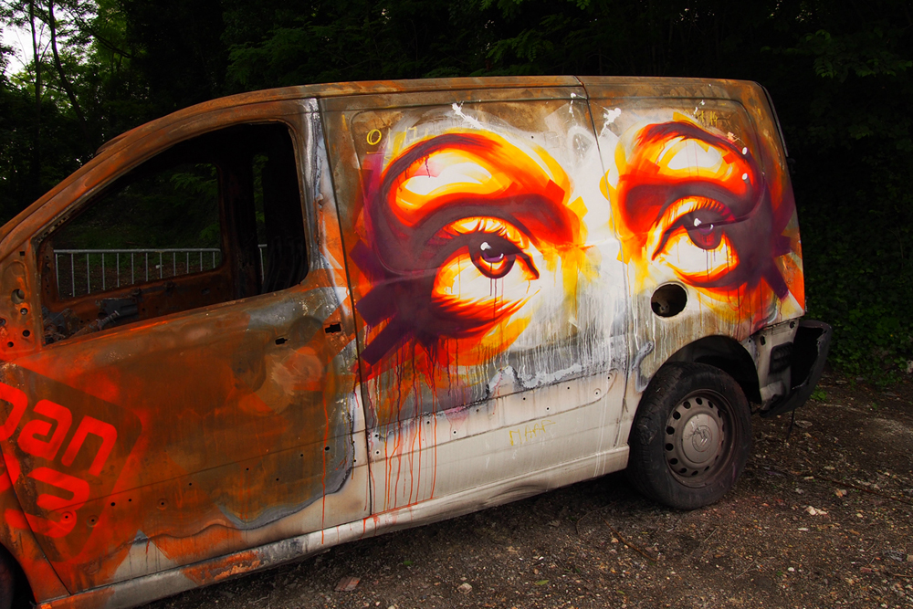 Fortress-by-Dan23-street-art-graffiti-car-In-Situ-Art-Festival-Fort-d-Aubervilliers-photo-United-States-of-Paris