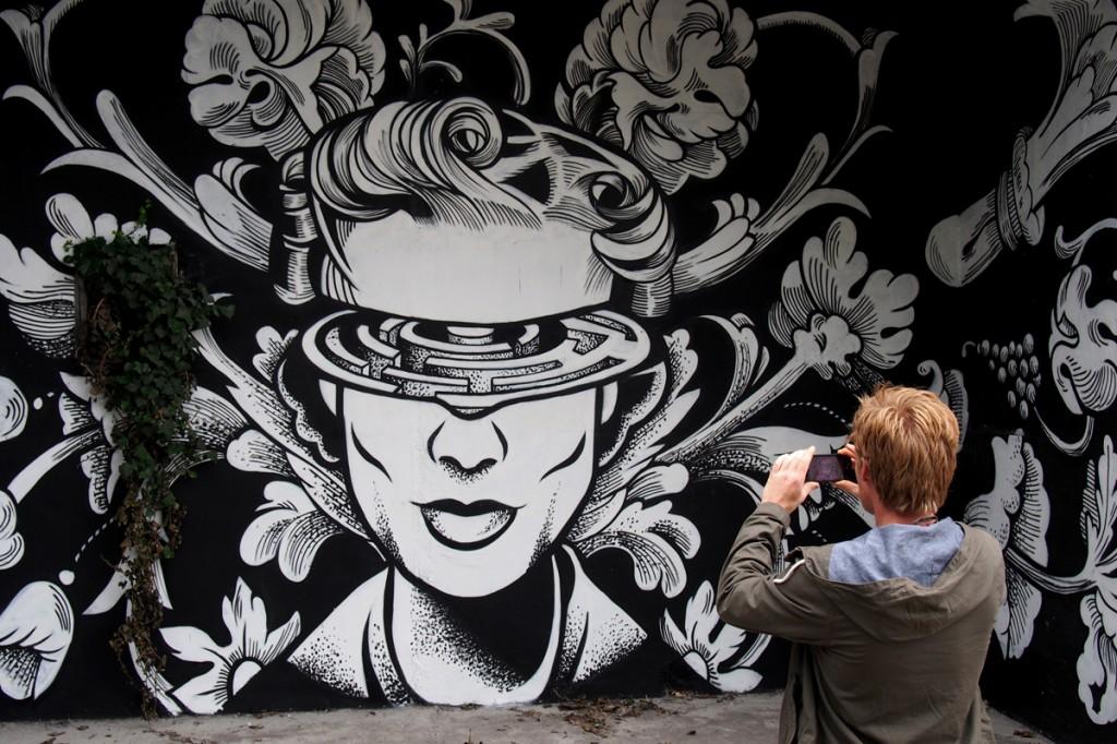 In situ art festival le nouveau spot street art au fort d 39 aubervilliers avec dan23 jef - Expo street art paris ...