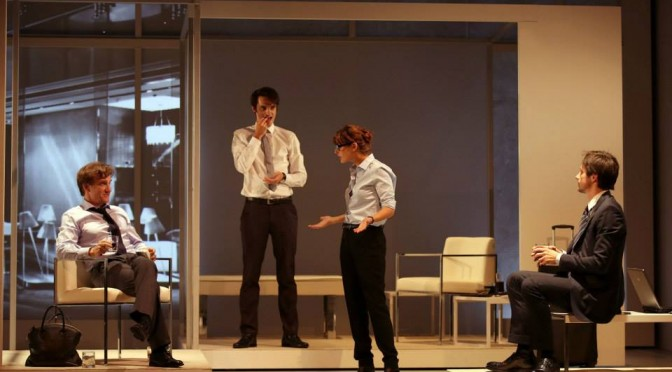 LES CARTES DU POUVOIR au Théâtre Hébertot : infernal jeu de manipulations avec Thierry Frémont & Raphaël Personnaz