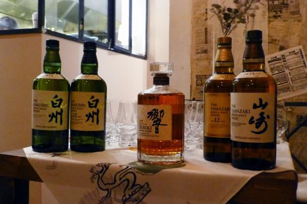 Izakaya Isse restaurant japonais bootle keep dégustion whisky saké sushis sashimis tempura Patrick Duval Terutaka Izumi Hikibi Hakushu Yamazaki