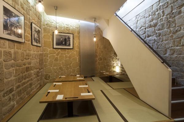 Izakaya Isse restaurant japonais bootle keep dégustion whisky saké sushis sashimis tempura Patrick Duval Terutaka Izumi salon Ozu