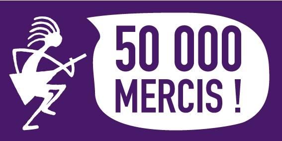50 000 fans mercis page officielle facebook  Printemps de Bourges festival musique édition 2015