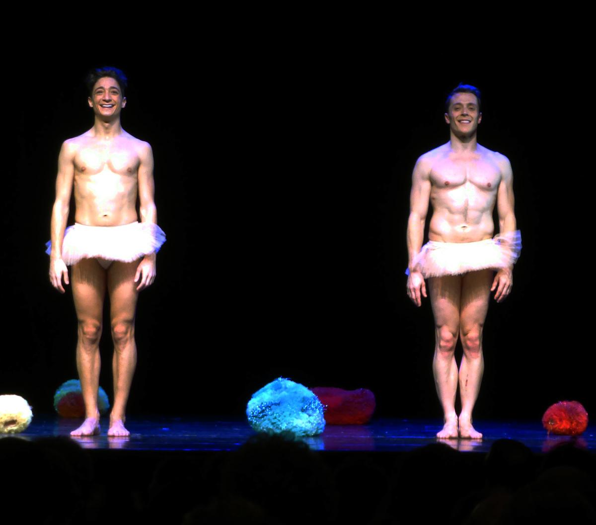 Tutu par Chicos Mambo spectacle la danse dans tous ses états avec Loïc Consalvo et Julien Mercier danseurs photo salut scène by United States of Paris blog