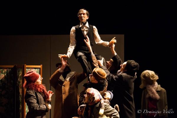 Le Révizor de Nicolaï Gogol Théâtre de la Tempête mise en scène Paolo Giusti spectacle russe Paris Cartoucherie Bois de Vincennes photo Dominique Vallès