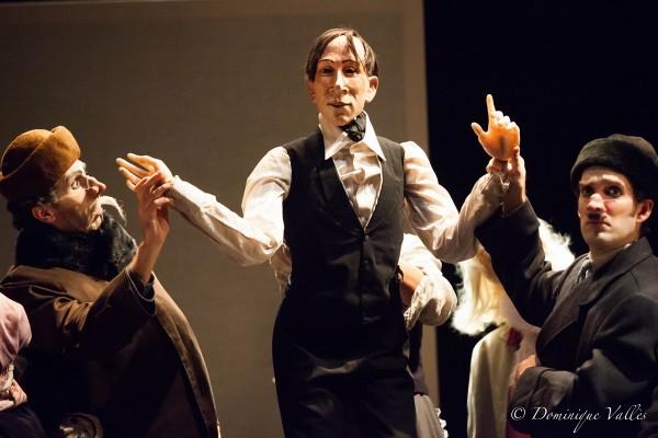 Le Révizor de Nicolaï Gogol Théâtre de la Tempête mise en scène Paolo Giusti spectacle russe Paris Cartoucherie photo Dominique Vallès