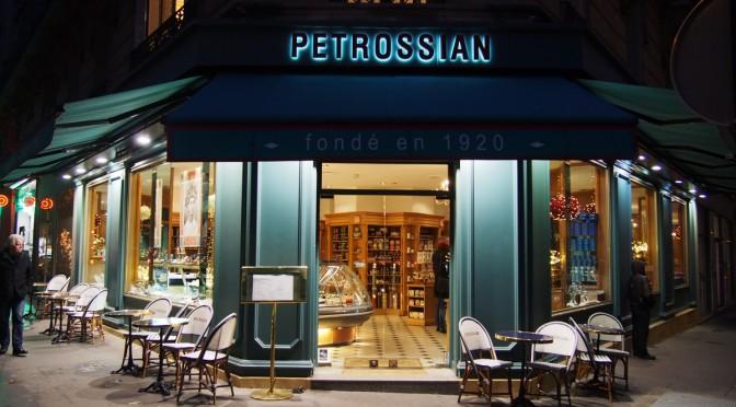 Coffret caviar pour Saint-Valentin exceptionnelle par Petrossian