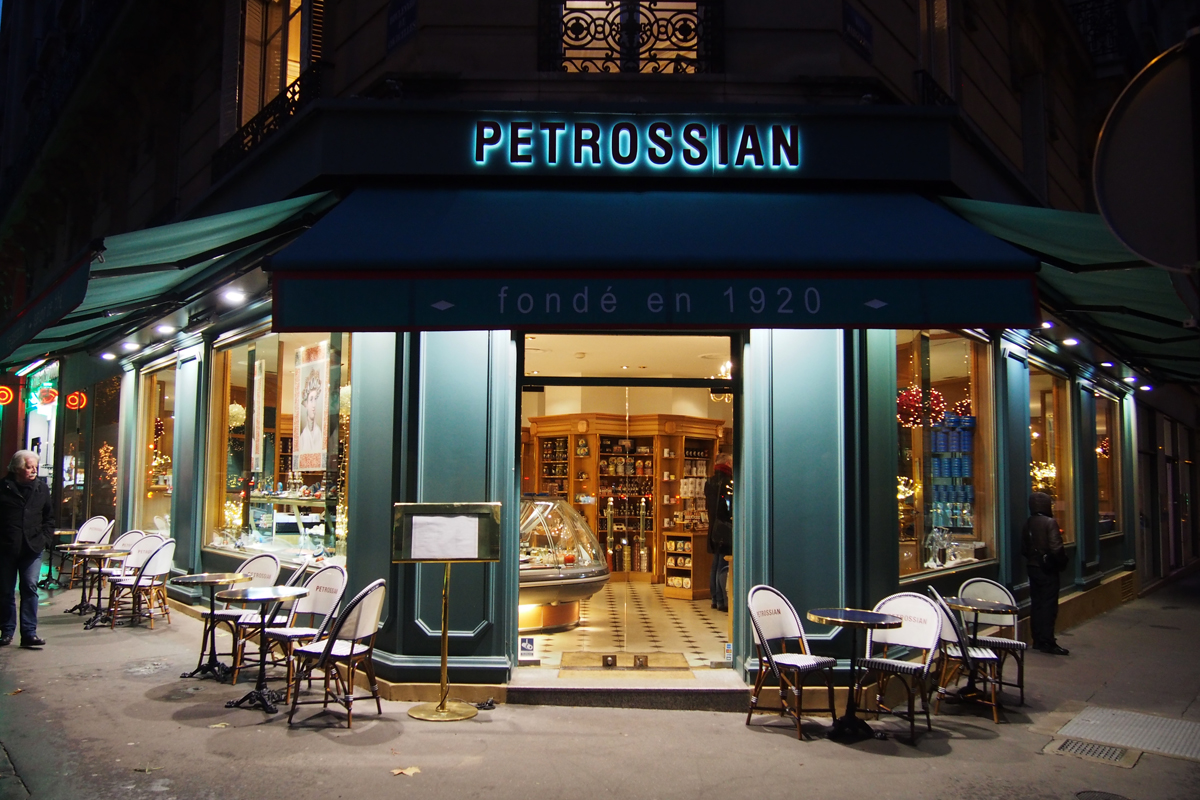 Petrossian un nouvel crin gastronomique dans le 17e paris united states of paris - Boutique cuisine paris ...