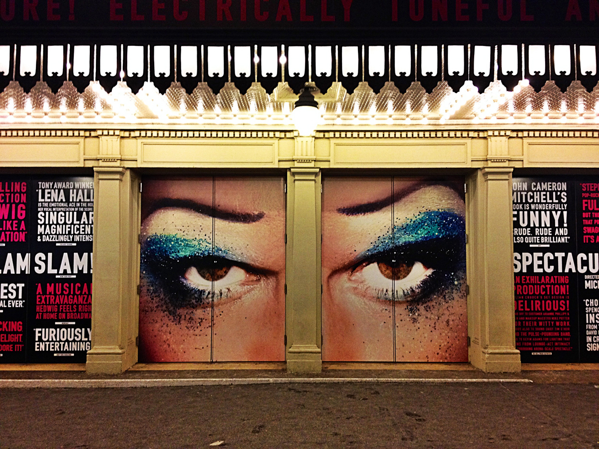 Michael C Hall look dexter Hedwig and the angry inch broadway musical show new york city John Cameron Mitchell Stephen Trask Michael Mayer Winner best musical revival 2014 Tony Award photo by United States of Paris blog