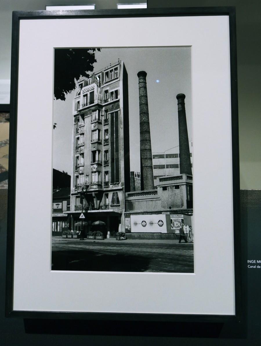photographie canal de l ourcq 1957 by inge morath photographe exposition paris magnum agence la. Black Bedroom Furniture Sets. Home Design Ideas