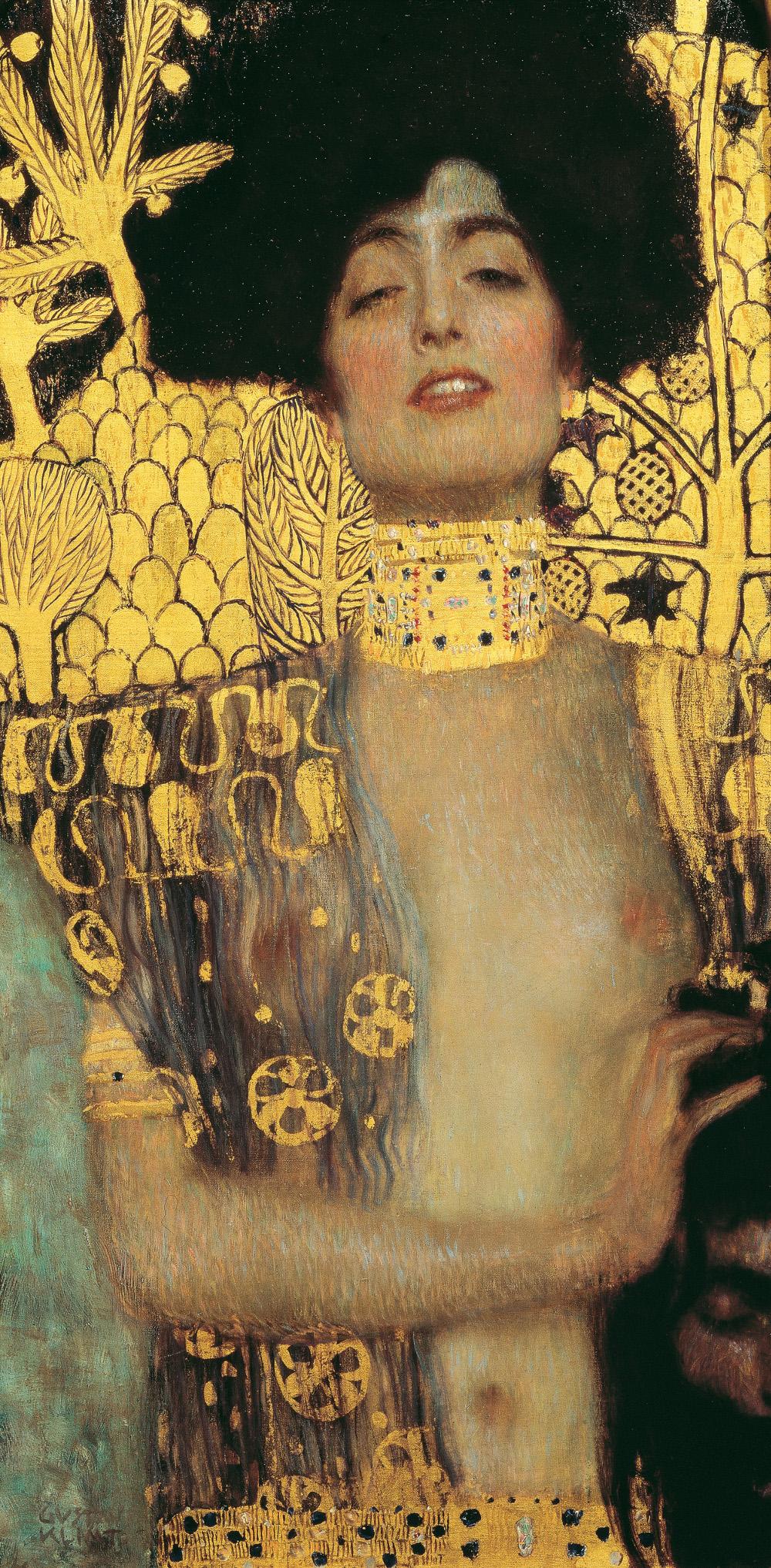 Judith, 1901, Gustav Klimt - Musée Belvédère Vienne