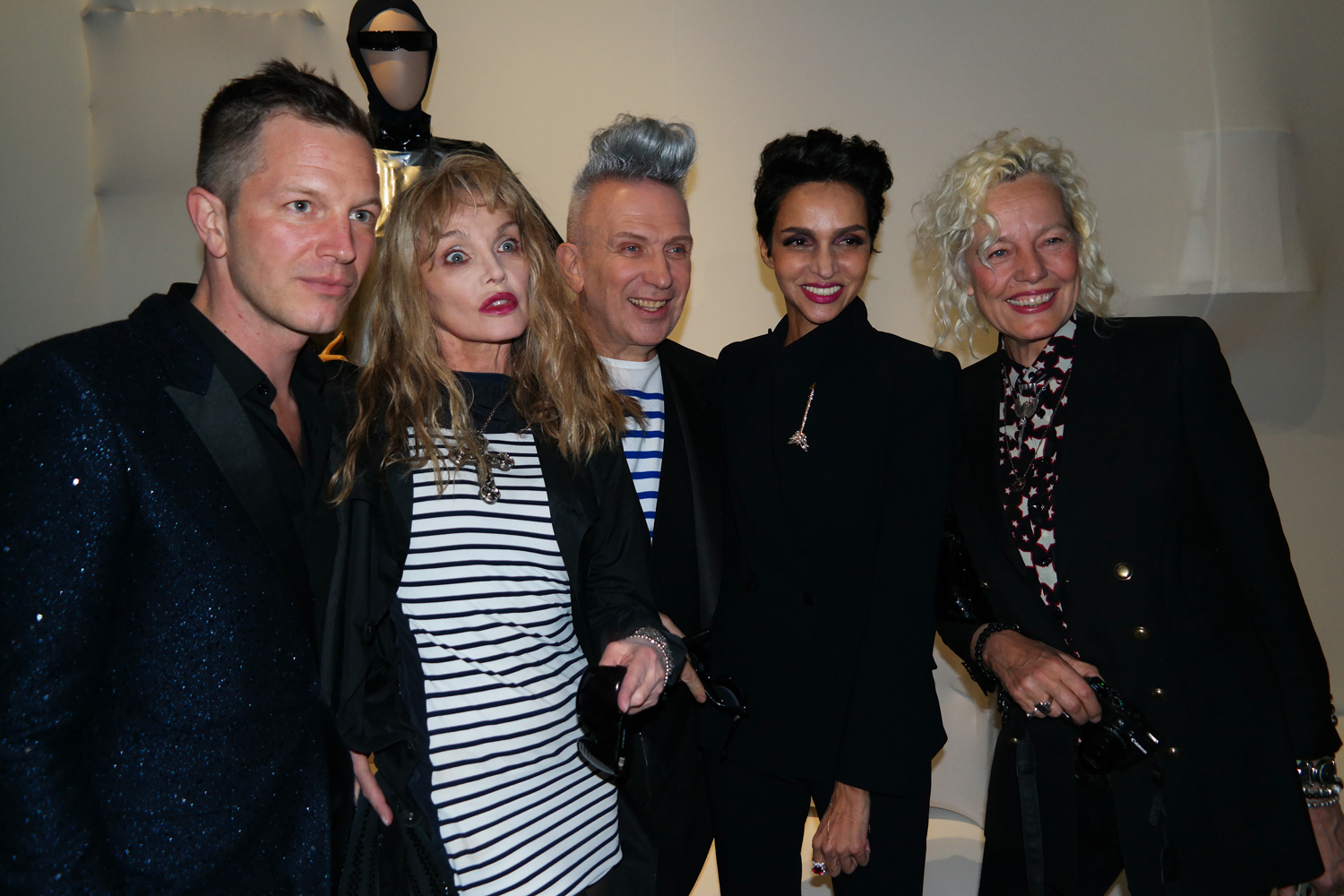 Thierry Maxime Loriot commissaire exposition Arielle Dombasle Jean Paul Gaultier Farida Khelfa Ellen Von Unwerth exposition Grand Palais photo United States of Paris Blog