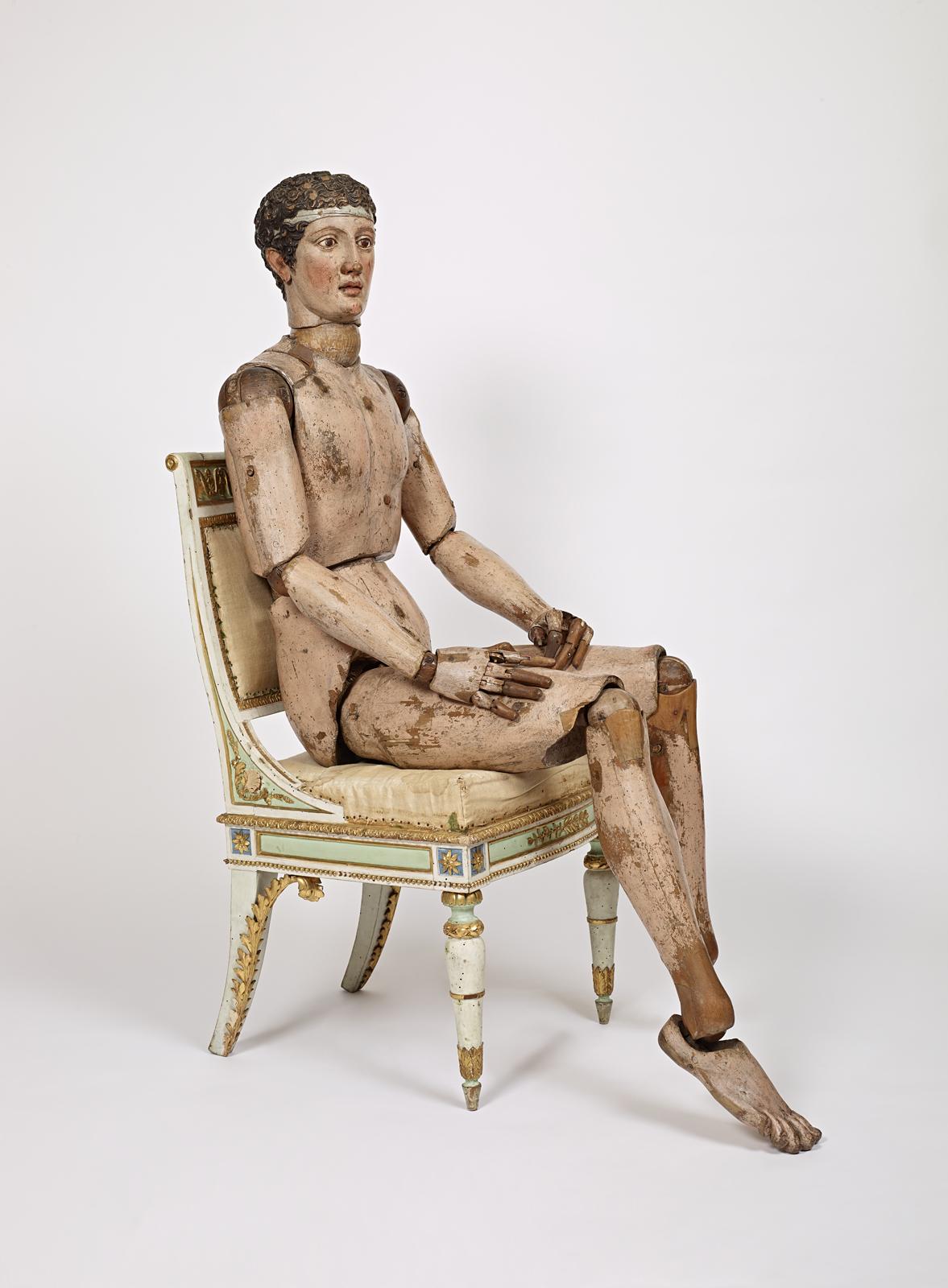 Mannequin néoclassique - Italie 1810 - Anonyme ) Comune di Bergamo Accademia Carrara