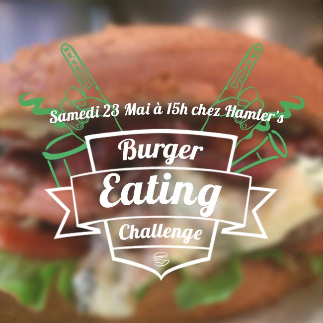 Burger Eating Challenge restaurant Hamler s burgery paris 12 rue monge 5e samedi 23 mai 15h