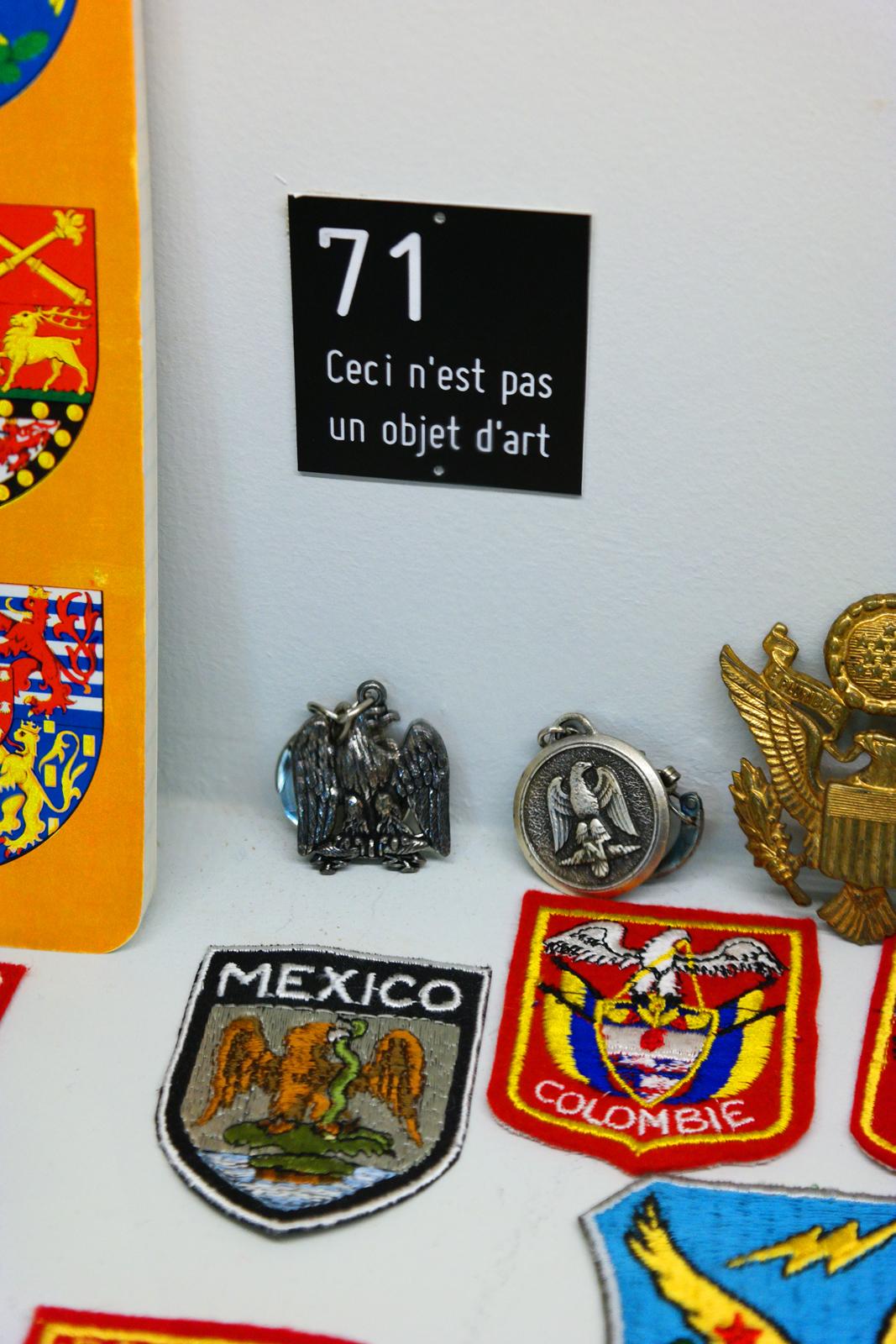 Ceci-n-est-pas-un-objet-d-art-Section-des-Figures-l-aigle-de-l-oligocène-à-nos-jours-1972-Marcel-Broodthaers-exposition-Monnaie-de-Paris-Musée-d-art-moderne-Département-des-Aigles