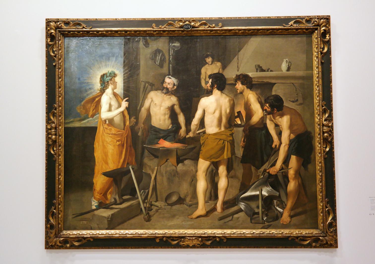 La Forge de Vulcain, vers 1630, Diego Velazquez, Madrid, Museo Nacional del Prado
