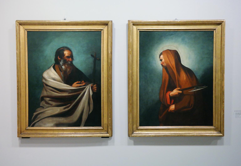 Saint Jude Thaddée, Saint Philippe, vers 1610-1612, Jusepe de Ribera, Florence, Fondazione di Studi di Storia dell'Arte Roberto Longhi
