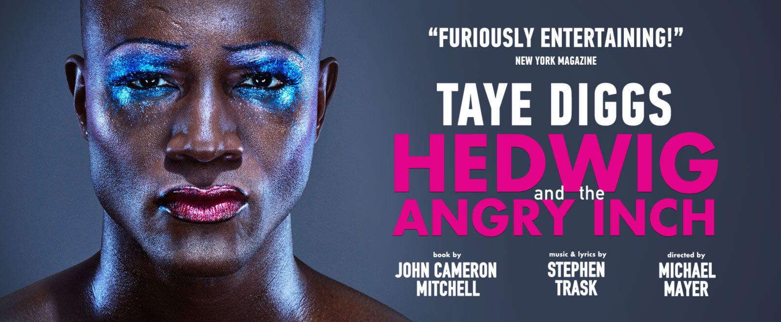 Taye Diggs is Hedwig and the angry inch musical show broadway Belasco Theatre new york city