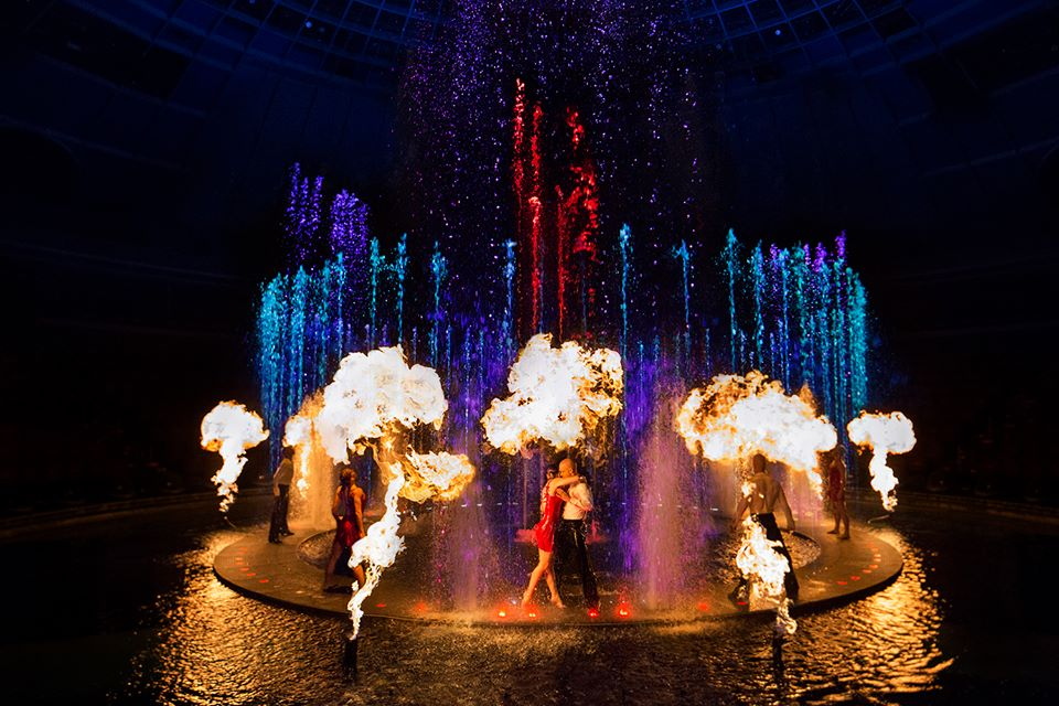 Le r ve the dream wynn las vegas 10 ans de show for Pool show las vegas november