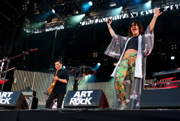 Lilly Wood and the prick concert scène festival Art Rock 2015 saint brieuc Prayer in C Nili Hadida Benjamin Cotto tournée tour musique stage photo by united states of paris blog