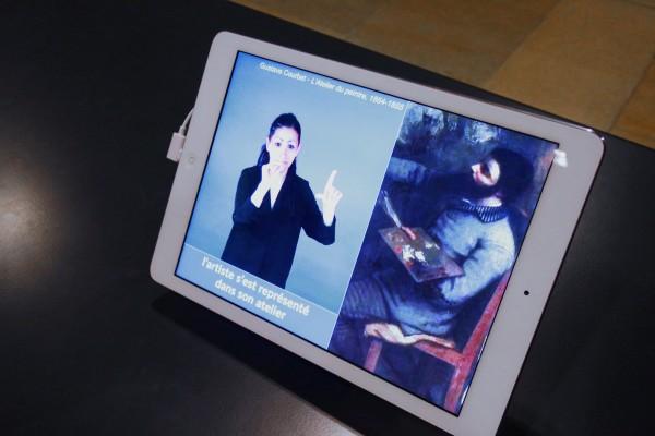 Musée orsay atelier du peintre gustave courbet déficient auditif entrezlatelier peinture expérience immersive découverte public oeuvre photo by Blog United States of Paris
