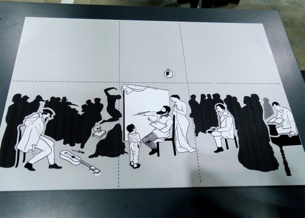 Musée orsay atelier du peintre gustave courbet déficient visuel entrezlatelier peinture expérience immersive réalité augmentée découverte public oeuvre photo by Blog United States of Paris