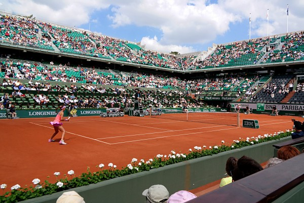 Roland Garros 2015 tournoi tennis Maria Sharapova Vitalia Diatchenko Priceless Mastercard grand chelem France Porte Auteuil sport photo by United States of Paris