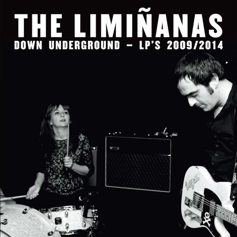 The Liminanas down underground LP s 2009 2014 double cd intégrale anthologie album Because Music groupe couverture Lionel et Marie