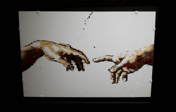The art of the Brick  Nathan Sawaya art création Paris expo Porte de Versailles briques lego critique avis photo by United States of Paris