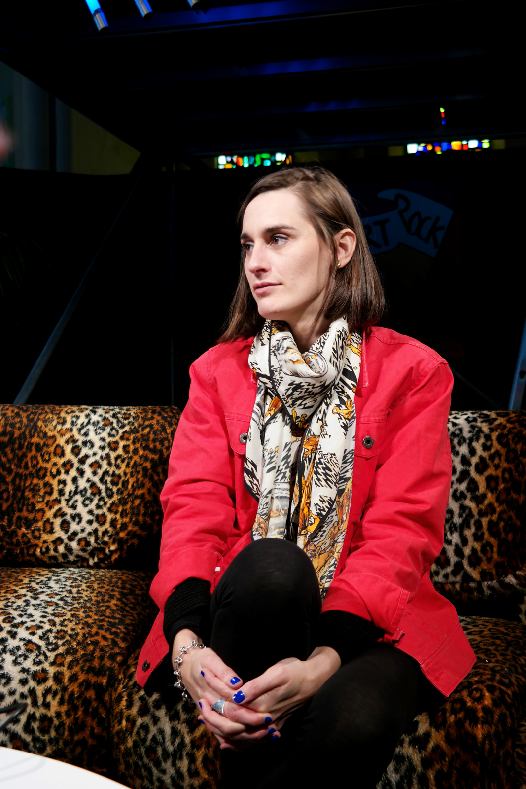 Yelle concert art rok 2015 festival saint brieuc Julie Budet interview conférence de presse bretagne tournée complétement fou tour photo by united states of paris blog
