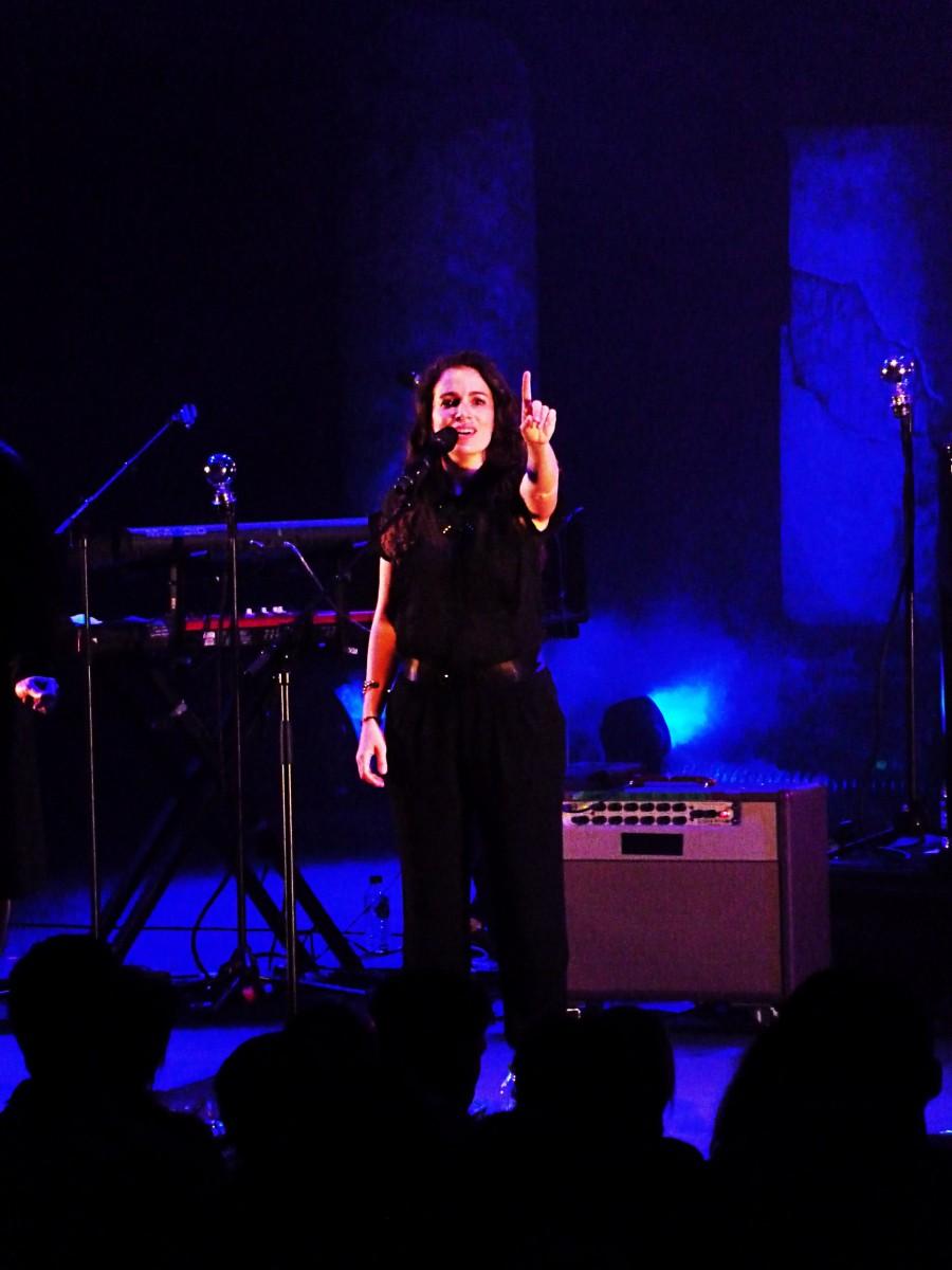 Dominique A chanteur concert tournée album Eléor festival les nuits de fourvière Lyon théâtre antique musique comment certains vivent photo by united states of paris