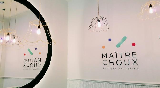 Maitre Choux : un frenchy à Londres magnétise avec ses éclairs, choux et chouquettes !