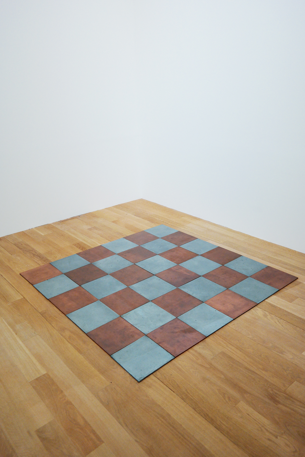 Copper-Zinc Plan, 1969, by Carl Andre