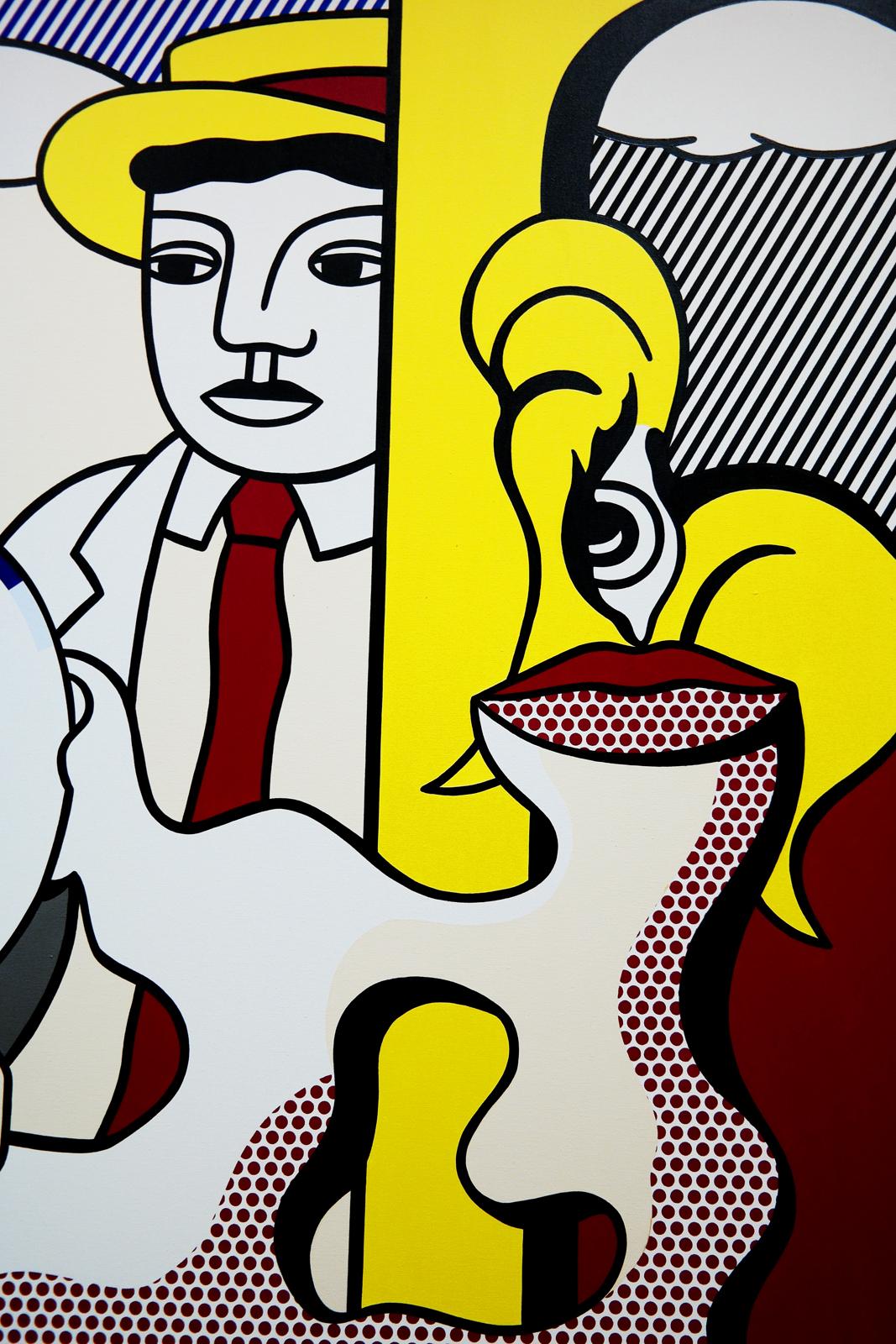 Figues with Sunser (détail), 1978, Roy Lichtenstein