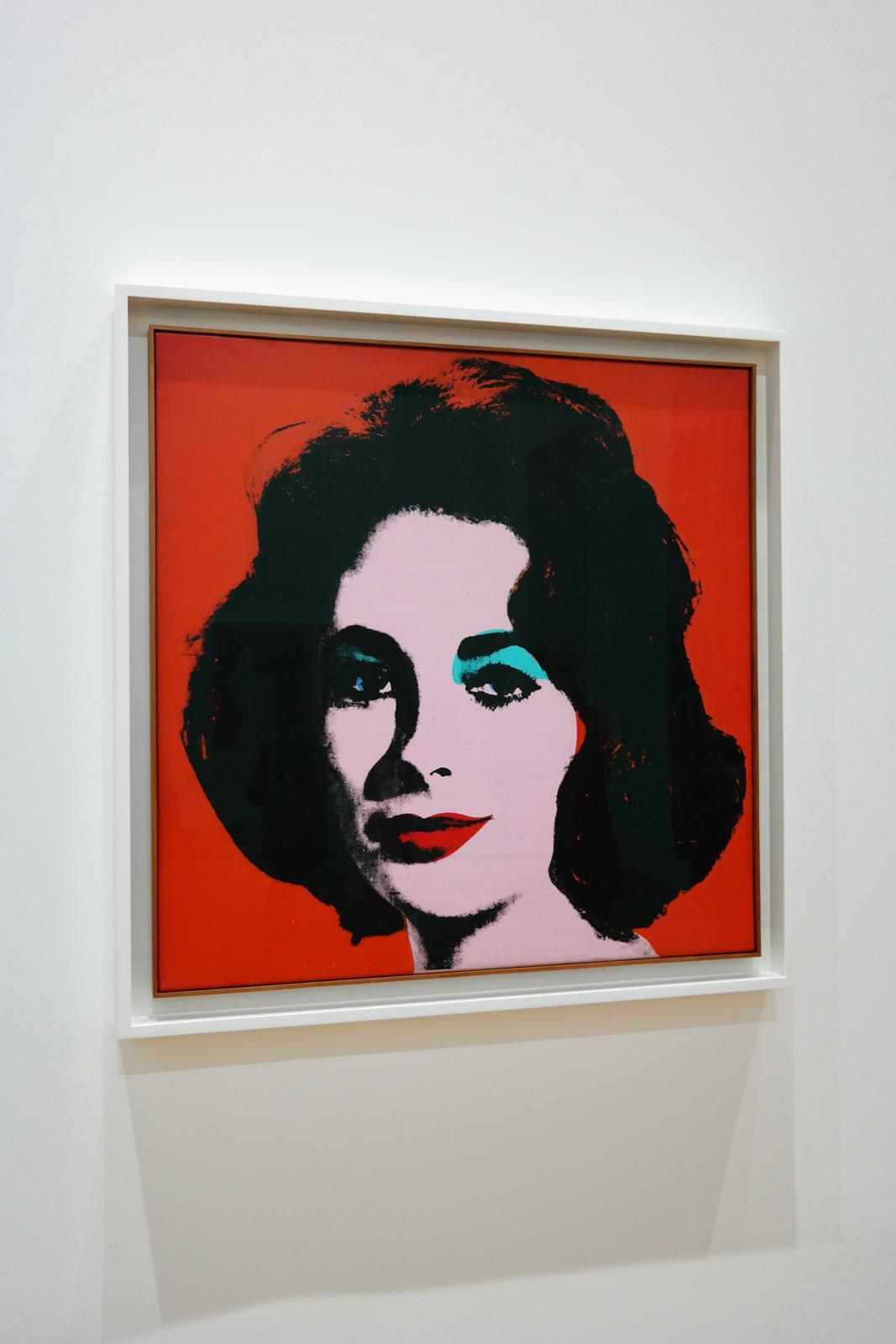 Liz #6 (Early Colored Liz), 1963, Andy Warhol