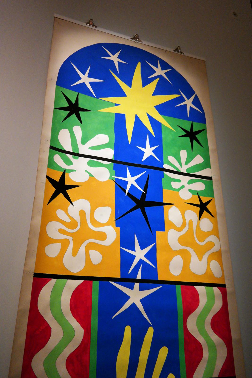 Henri Matisse Atelier Bony - Nuit de noël 1952 réplique du ...