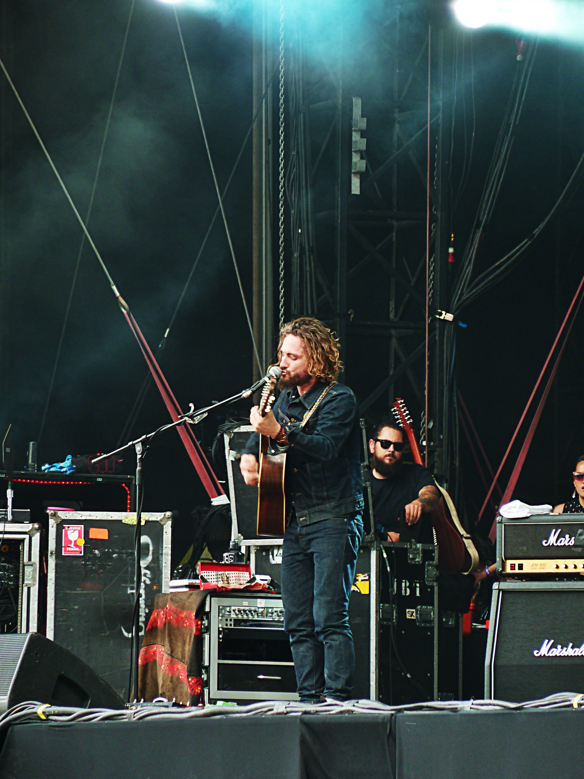 John Butler Trio music band live Rock en Seine 2015 festival concert france stage photo by united states of paris blog